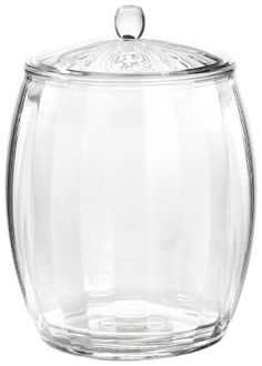 I recently saw a pin that used big glass candy jars that looked like this one to hold things like pasta salads, potato salads etc for cookouts (which I thought was a GREAT idea!) Why not improve upon it by using something like this. An acrylic ice bucket.... Designed to keep things cold and not made of glass....