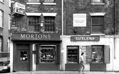 Mortons Cutlers at 100 West Street in Sheffield City Centre They sold scissors, cutlery, knives, silverwear and more The window used to have a sign in it saying We dont sell flick knives Sheffield Pubs, Happy City, Industrial Architecture, Yorkshire, Street, Memories, Derbyshire, Shopping, Live