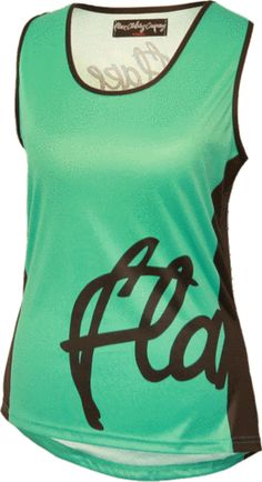 The Tank Top Jersey- Teal by Flare Clothing Dirty Jane Women s Mountain Bike  Apparel 32a40da98