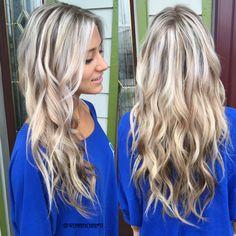 Platinum blonde. Silver blonde. Ash blonde. Balayage highlights