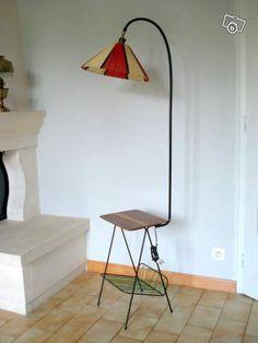 Lampadaire Liseuse Scoubidou Vintage Lampe 60 Décoration Deux-Sèvres - leboncoin.fr