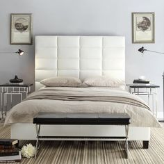 Kingstown Upholstered Panel Bed