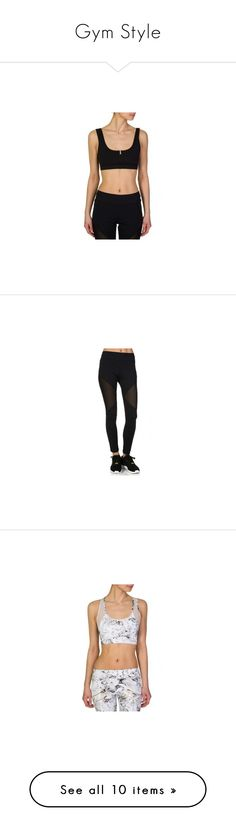 """""""Gym Style"""" by zeeandcoltd ❤ liked on Polyvore"""