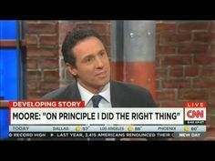 THERE'S TWO NATIONS IN AMERICA -- ONE IS GODLESS --  What America is up against --- YOU SHOULD REALLY LISTEN TO THIS --- CNN Host (Happens to be the brother of NY's Gov) Interviews Fmr Alabama Judge Roy Moore over Same-Sex Marriage