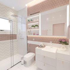 Home Design Decor, Home Room Design, Home Interior Design, House Design, Bathroom Design Luxury, Modern Bathroom Design, Girl Bathrooms, Aesthetic Rooms, Dream Rooms