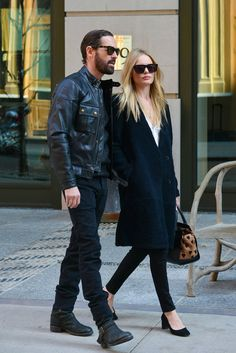 Kate Bosworth topshop coat burberry heart bag. Love the shoes