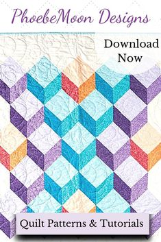 This quilt of illusion is easy to piece using just square blocks! Finishes about x perfect for a crib, lap or wheelchair quilt. Half Square Triangle Quilts, Square Quilt, Square Deal, Types Of Patterns, Two Color Quilts, Easy Quilt Patterns, American Red Cross, Hexagon Quilt, Program Design