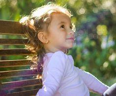 happy little girl 40 Sweet Little Girl Hairstyles