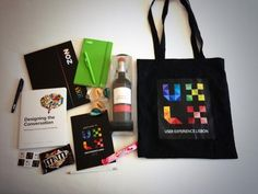 Swag Bag Conference Поиск в Google Company Employee Gifts Welcome