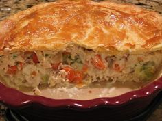 Thomas Keller's Chicken Pot Pie Food family Chicken Pie Recipe Easy, Easy Pie Recipes, Chef Recipes, Chicken Recipes, Cooking Recipes, Thomas Keller, Yum Yum Chicken, Quick Easy Meals, Food Inspiration
