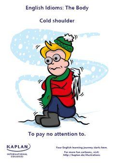English Idioms: Cold Shoulder