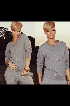 I love this sweatsuit! I want this! :)