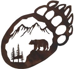 Bear Paw Wall Hanger
