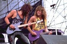 BON JOVI: Slippery When Wet tour (1986)