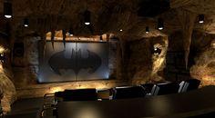 BatCave media room!