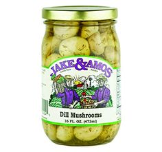 Jake & Amos Pickled Dill Mushrooms, 16 Oz. Jar (Case of 1... https://www.amazon.com/dp/B00TBJ9A8E/ref=cm_sw_r_pi_dp_x_2h5nyb35DZY51