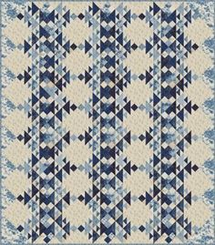 Frost Quilt Pattern - Laundry Basket Quilts