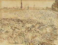 yama-bato: Gogh 1853-1890, Vincent van, Netherlands [+] Wheat Field