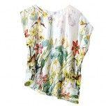 The Melanie Lyne summer collection: asymmetrical-floral-print top