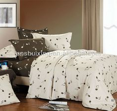 High Quality Music Note Bedding
