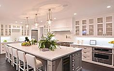 large kitchen island tiles backsplash with built in dining table brilliant i d need to chandliers for a modern farmhouse can be tricky find we ve rounded up some of our favorite contemporary inspired chandeliers