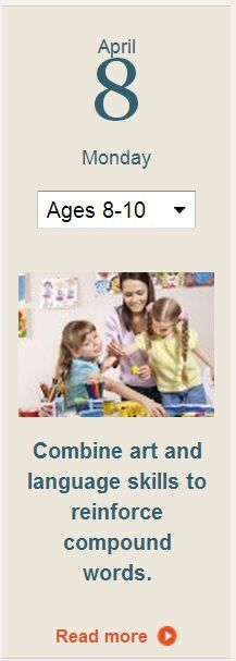 Read the rest of this tip and get more learning activities for your child at http://www.scholastic.com/parents/.