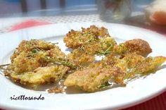 Frittelle di fiori di sambuco #ricetta di @luisellablog