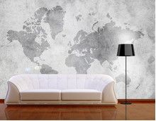 Photo Wall Mural - adhesive Vintage Worldmap II-Home and Garden Design Ideas! World Map Wallpaper, Removable Wall Murals, Industrial Architecture, Loft, Living Room Inspiration, Sofa Chair, Home And Living, Living Rooms, Photo Wall