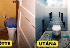 19 egyszerű változtatás, amivel új szintre emelheted az otthonodat Toilet, Diy, Bathroom Things, Home Decor, Exercise, Sport, Flats, Interiors, Guest Toilet