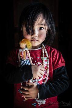 Child of Bhutan by Gavin Gough
