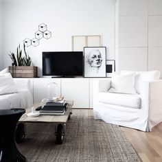 Ikea 'Bestå' cabinets @skrinetmitt