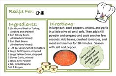 CHILI - SO SIMPLE TO MAKE FROM SCRATCH!