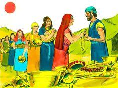 Éxodo 25:1-2 Jehová habló a Moisés, diciendo: Di a los hijos de Israel que tomen para mí ofrenda; de todo varón que la diere de su voluntad, de corazón, tomaréis mi ofrenda. ♔