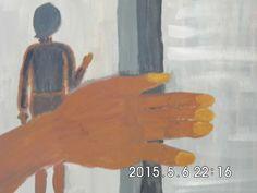 Obraz zlote paluszki, Malarka Renata Maria Kohlstrung