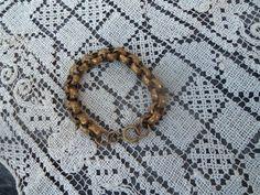 Vintage Chunky Brass Link Bracelet by bettyrayvintage on Etsy, $24.00