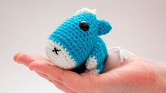 Baby Horse blue crochet amigurumi by Chikai on Etsy Baby Horses, Etsy Christmas, Brighton, Dinosaur Stuffed Animal, Crafty, Crochet, Unique Jewelry, Handmade Gifts, How To Make