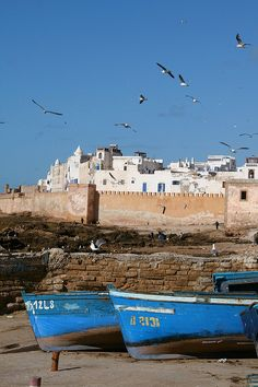 Essaouira, Morocco -Z=3hours drive from Marrakech, beautiful old costal town, perfect for a day trip