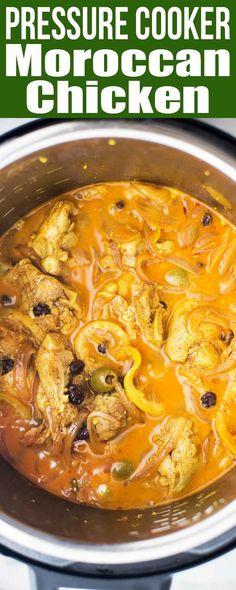 Pressure Cooker Moroccan Chicken Recipe | SimplyRecipes.com