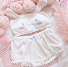 Women's Lingerie Sets, Cute Lingerie, Women Lingerie, Underwear Sets, Kawaii Fashion, Cute Fashion, Fashion Outfits, Pastel Fashion, Christmas Style
