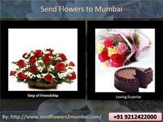 Send Flowers to Mumbai India with free home delivery through Mumbai florist.Find Best cake shop in Mumbai through sendflowers2mumbai.com