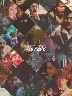 harry potter. Until the very end.