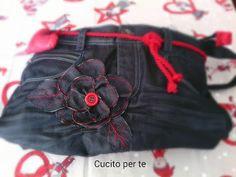 CUCITO per TE : Un jeans in meno, una borsa in più!