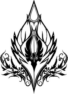 Copyright belongs to Blizzard. Tribal version of Blood Elf crest. UPDATE: If you're interested, you could buy the t-shirt or hoodie with this crest on h. Horde Tattoo, Simbols Tattoo, Elf Tattoo, Body Art Tattoos, World Of Warcraft, Warcraft Art, Tribal Tattoo Designs, Tribal Tattoos, Knight Tattoo
