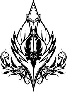 Icon of Blood | Blood Elf Crest (World of Warcraft)