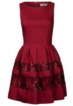 Closet - Cocktailkleid / festliches Kleid - berry