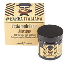 Amerigo from Barbara Italiana is the paste to shape and structure your beard and moustache perfectly. It ensures styling and shape, without sacrificing nourishment, thanks to the active ingredients of its formula. It is not heavy and gives your beard a smooth and shiny look. Just fantastic! Beard Care, Moustache, Active Ingredient, Smooth, Shape, Beard Grooming, Mustache, Moustaches