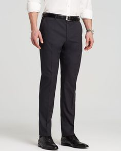 Hugo Textured Hamen Trousers - Slim Fit - Bloomingdale's Exclusive
