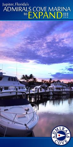 ADMIRALS COVE MARINA to EXPAND!!! The luxury waterfront community of Admirals Cove is looking to expand its marina.  Read more: http://www.waterfront-properties.com/blog/admirals-cove-marina-to-expand.html #admiralscove #jupiterflorida