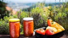 Léto ve skleničce: Zavařené lečo! Spostupem krok za krokem hravě arychle - Proženy Food Storage, Pesto, Pumpkin, Stuffed Peppers, Canning, Vegetables, Welding, Red Peppers, Pumpkins