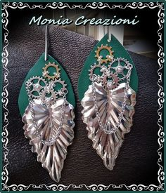 """Congrats Monia Feliziani! Your Earrings have been voted the Facebook Most """"Liked"""" Design November 14, 2016.  #jewelrymaking #jewelrydesign #beading #diyjewelry"""